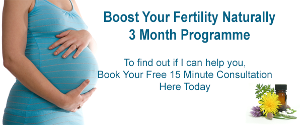 Boost your fertility naturally 3 Month Homeopathy Programme