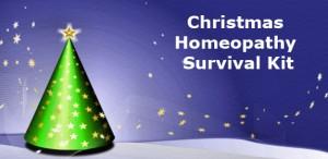 Christmas Homeopathy Survival Kit