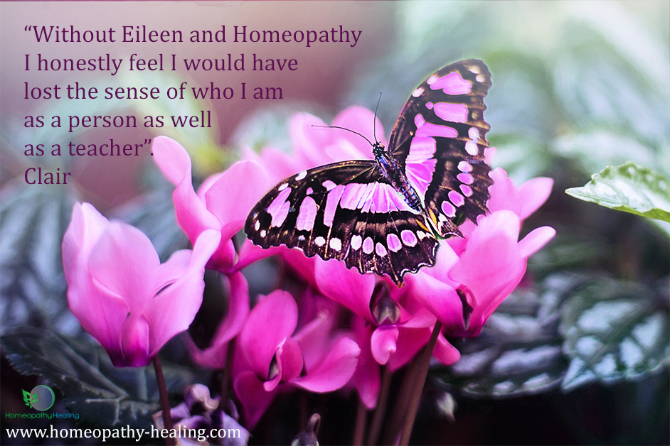 Teacher Stress Testimonial for Homeopathy