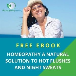 Free EBoook - Homeopathy, A Natural Solutoin to Hot Flushes and Night Sweats